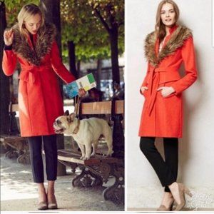 Plenty by Tracy Reese Montaigne Coat Wool Blend 2P